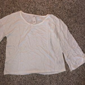 Gap tie sleeve top NWT